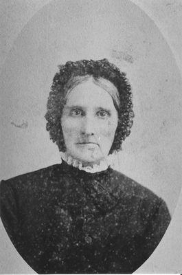 A portrait of Thomasine (Davidson) Hume
