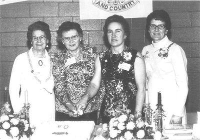 Ashgrove Women's Institute 50th Anniversary