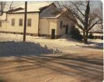 Churchill United Church in Winter