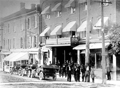 McGibbon Hotel, 79 Main Street South. c.1913