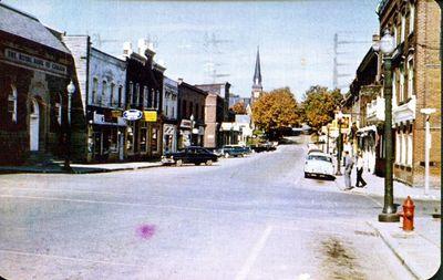 Main Street, Georgetown - looking north.