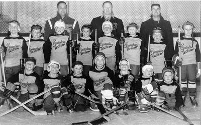Tykes All Star Hockey Team