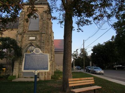 Halton Hills Public Library/Georgetown - Ontario Trust plaque.