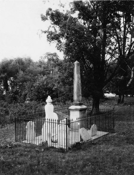 The cemetery at St. George's Anglican Church, Guelph