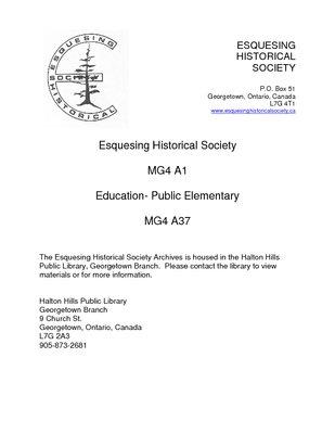 MG4 A1 Education Public Elementary - MG4 A37