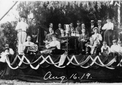 Glen Williams Citizen's Band, 1919