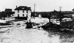 Main Street during the Credit River Flood