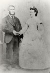 The Wedding of John Standish Leslie and Mary Jane McClure