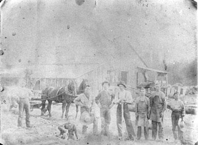 Sawmill at Farlton