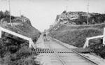 Rock cut on Grand Trunk Railway