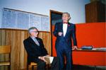 Bill McDonald and Hon. Senator Allan Norton