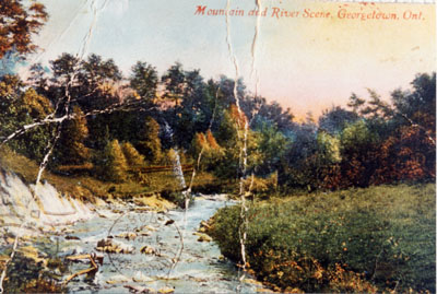 The Credit River valley 1908