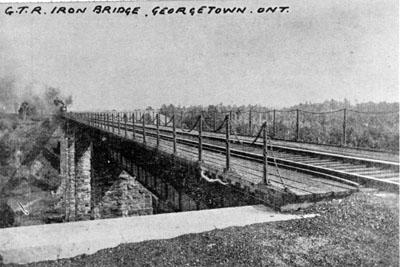 Grand Trunk Railway iron bridge