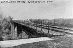 Grand Trunk Railway iron bridge