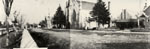 Panoramic photo with the Congregational Church 1913