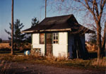 The former Stewarttown flag station 1969