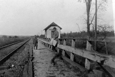 Mansewood Train Station 1922