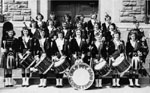 Girls pipe band