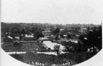 View of the Village from Cemetery Hill c1900