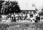 Junior and Senior rooms of Glen School 1927