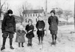 Wheeler children on Prince Street c1910