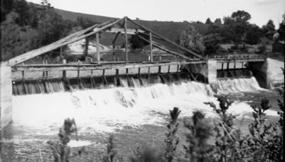 Footbridge over Credit River c1910