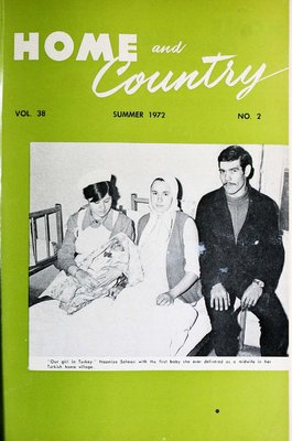Home & Country Newsletters (Stoney Creek, ON), Summer 1972