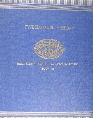 Bruce South District Women's Institute Volume 3