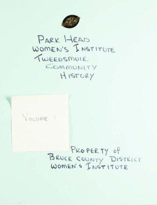 Park Head WI Tweedsmuir Community History, Volume 1
