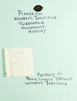 Pinkerton WI Scrapbook, Volume 5