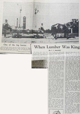 White Lake WI Tweedsmuir Community History - Volume 1