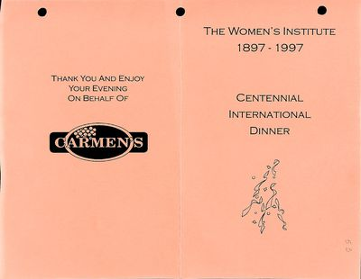 Amherst Island Tweedsmuir History, Volume 2 F2 1980-96