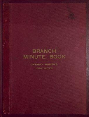 Winona WI Minute Book, 1916-1923