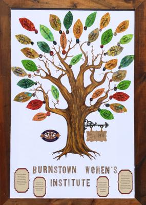 Canada 150 Art Tree Project - Burnstown W.I.