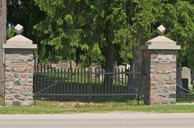 Farnham Cemetery 1931 Gate