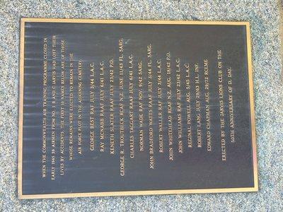 Jarvis Women's Institute War Memorial