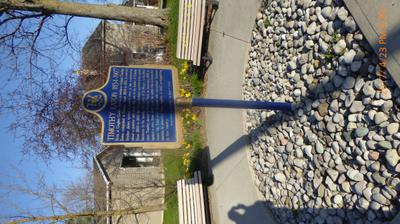 Timothy Eaton Ontario Historical Plaque