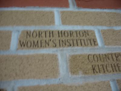 Horton North W.I. brick