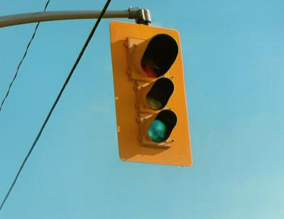 Stop Lights at Intersection of Iona Road and Talbot Line
