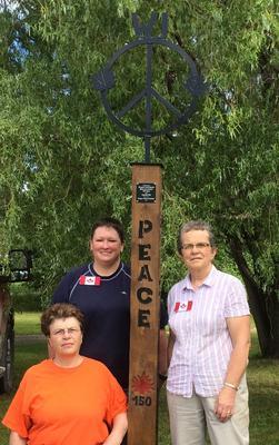 Glasgow Women's Institute's Peace Pole