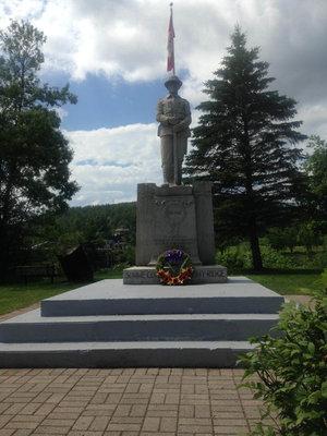 Mattawa WI Cenotaph