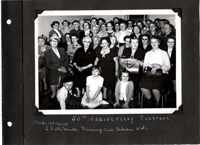 50th Anniversary: Cochrane District: Frederickhouse, Clute, Hunta, Dunning, and Cochrane WI