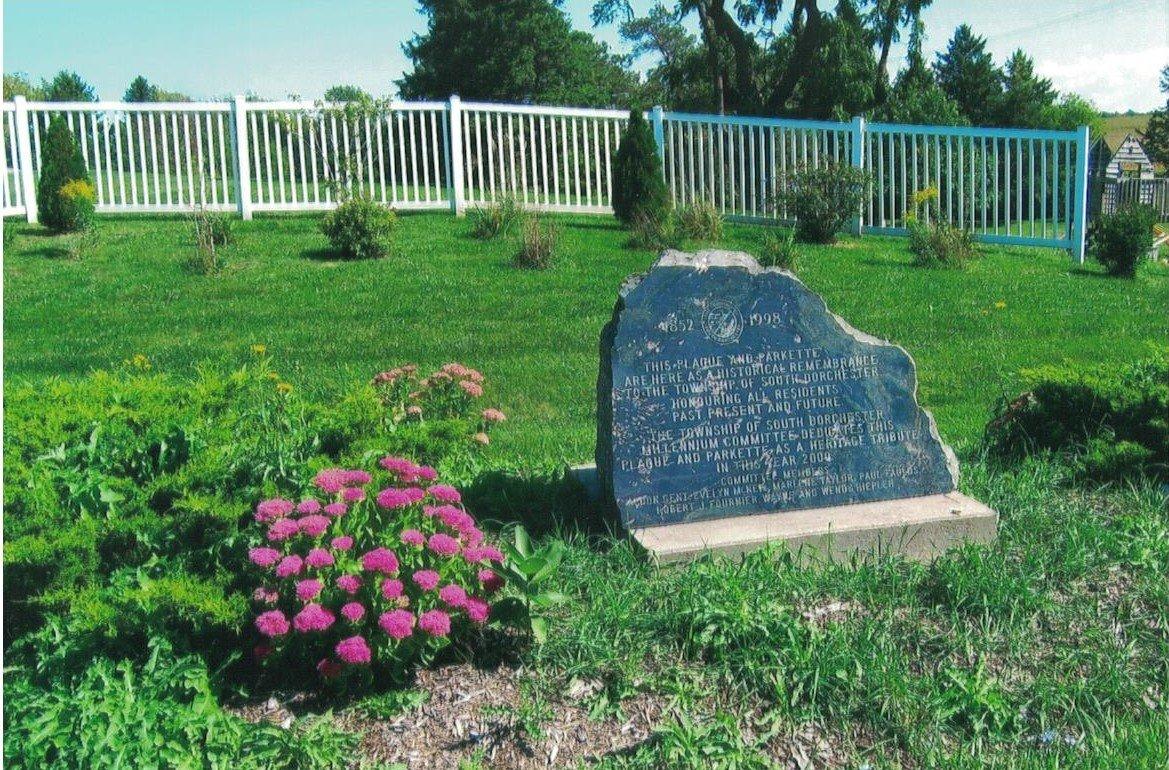 Lyon's Parkette, South Dorchester Township