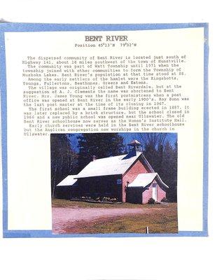 Bent River WI Tweedsmuir Community History, Volume 2: School