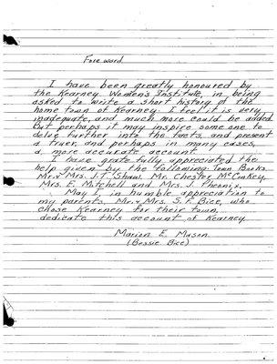 Kearney WI Tweedsmuir Community History, Volume 2