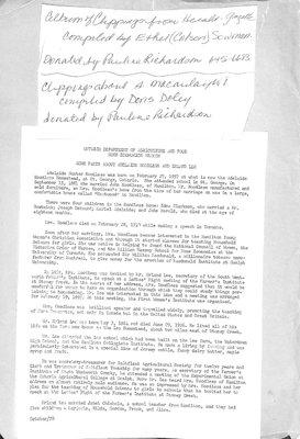 South Macaulay WI Tweedsmuir Community History, Volume 4
