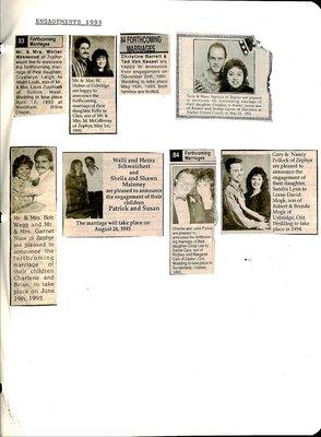 Zephyr WI Tweedsmuir Community History, Volume 4