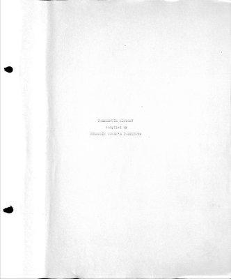 Dunrobin WI Tweedsmuir Community History, Volume 1