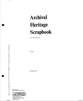 Dunrobin WI Tweedsmuir Community History, Volume 3