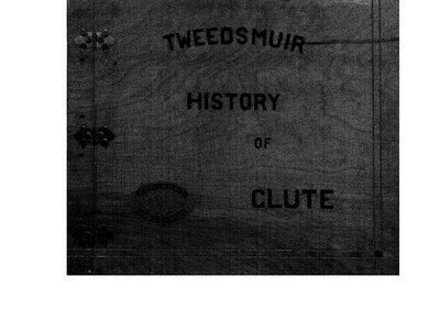 Clute WI Tweedsmuir Community History, 1924-1958